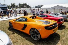 Dusty McLaren (Reece Garside | Photography) Tags: summer sun color history dusty car canon mclaren fos rare supercar goodwood mp4 festivalofspeed spotter hypercar mp412c mp412cspider