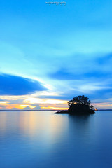 Sunset at Melawai Beach (wisnu_pharm) Tags: sunset beach indonesia landscape balikpapan melawai visitindonesia