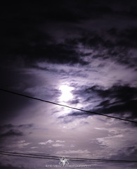 Purple Skies (Eye-View Photography) Tags: light sunset sun white black color clouds dark eyeview jamica