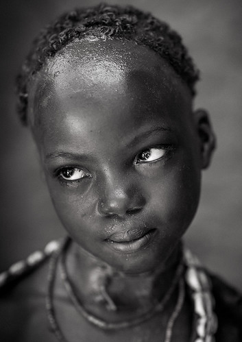 Hamer Tribe Girl, Turmi, Omo Valley, Ethiopia