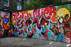Teach, Ever, Zomby DDS (Alex Ellison) Tags: urban graffiti halloffame graff ever teach hof westlondon zomby dds ladbrokegrove zom