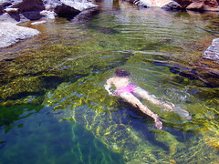 A Noon in the River 5 (angeloska) Tags: swimming hiking ikaria aegean july canyon greece ravine gorge naturalpool     wildswimming  angelspools middlechalares