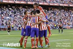 Atlético de Madrid 5 - 0 Rayo Vallecano (Esto es Atleti) Tags: best rayo j1 atletico calderon liga atleti 2013 vallecano filipeluis