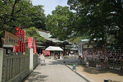 江島神社(辺津宮)(Enoshima Shrine, Kanagawa, Japan)