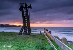 Playa de La Espasa (Glendor Diaz) Tags: sunset sol de atardecer asturias playa puesta espasa glendor