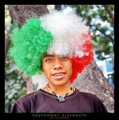 september 16th (<rs> snaps) Tags: boy man mexico mexicocity flag photoshopped grito impressedbeauty blinkagain reneschlegel