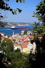 221 - a gap towards Bosphorus (Yavuz Halici) Tags: street turkey landscape ship trkiye gap vessel istanbul bosphorus yavuz boazii manzara sokak gemi differentperspective nikon18105mm nikon18105mmvr d3100 nikon18105mmvrlensf3556gednikonafsdxnikkor18105mmf3556gedvr yavuzhalc