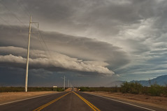 Something Wicked this Way Comes (Steven Maguire Photography) Tags: arizona clouds landscape monsoon thunderstorm sierravista cochisecounty sanpedrorivervalley
