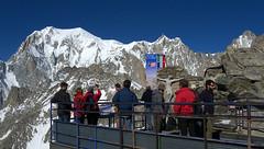 Chamonix, pointe d'Helbronner, panorama (Ytierny) Tags: panorama france montagne alpes altitude glacier pointe blanche courmayeur italie montblanc alpinisme massif hautesavoie valle aiguille plateforme maudit frontire helbronner peuterey ytierny