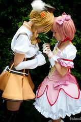 puella magi madoka magica (fabnol) Tags: france anime costume cosplay manga puellamagimadokamagica madokakaname homuraakemi mamitomoe kyuubey sayakamiki kykosakura