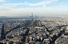 (shaggyshoo) Tags: travel autumn paris france streets tower fall digital skyscraper automne french high october europe tour view top horizon herbst eiffeltower aerial toureiffel tall 14th viewing tourmontparnasse tourmainemontparnasse