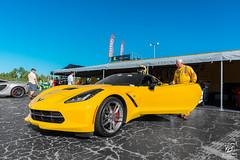 Stingray (Jason Sha'ul) Tags: chevrolet car yellow nikon automobile florida stingray wideangle automotive chevy american jupiter dslr co