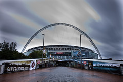 Wembley Stadium (alexknip) Tags: london arch unitedkingdom nfl sanfrancisco49ers brent wembley londen wembleystadium jacksonvillejaguars internationalseries