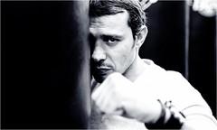 Le champion de boxe Brahim Asloum @brahiminside dans les gants de Victor Young Perez au cinéma (nikosaliagas) Tags: