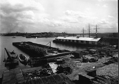 Wharves and construction work, Sydney Harbour