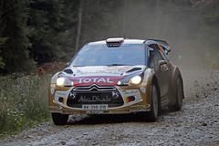 Robert Kubica, Citroen DS3 WRC (D.J.Nelson Photography) Tags: wales mud action sony rally citroen wrc total gravel kubica rallying llandegla robertkubica 2013 walesrallygb sonya58