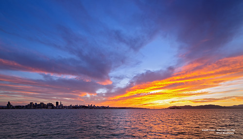Sunset Colors - San Francisco Bay