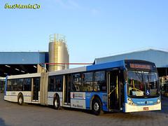 6 1595 _DSC0695 (busManíaCo) Tags: brazil bus buses azul apache millennium vip ônibus articulado busmaníaco viaçãocidadedutra caioinduscar millenniumiii nikond3100