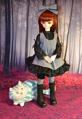 Scenes from Wonderland (Skyealloway) Tags: blue patrick fairy bjd patricia