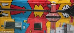 Canal de l'Arsenal (stephan_amandine) Tags: paris france jaune rouge canal bleu reflet bateau bastille arsenal quai couleur mouette placedelabastille bouée lisabelle canaldelarsenal quaidelarsenal