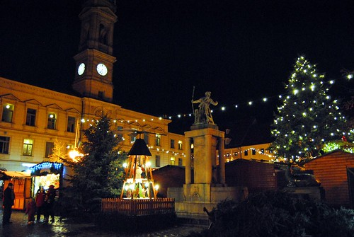Christmas Market in Grossenhain, Germany