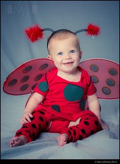 Ladybug Girl Baby