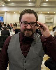 Hipster Me (II) (JF Sebastian) Tags: wedding portrait glasses funny bowtie suit thatsme dressed takenby cintruénigo jorgeferrergarcía morethan100visits morethan250visits fujifilmxe11855