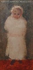 Eugenio Prati Raffaella Prati 1884 olio su tavola Collezione privata