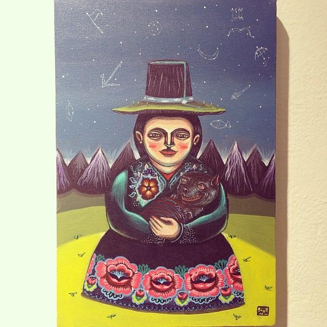 "Nemo • ""Colectiva de Fin de Año"" #art #arte #artinlima #arteenlima #gallery #galeria #brunogallery #muestra #artist #artista #pintura #painting"
