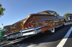 Ruby's Friday Night Cruise (dmentd) Tags: chevrolet chevy 1958 impala