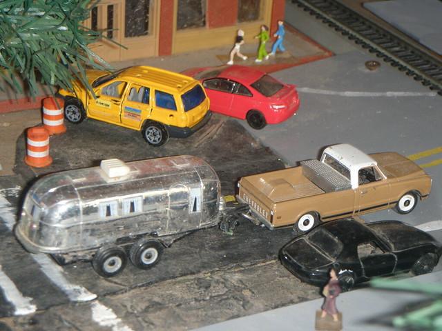 truck honda toy model pickup chevy trailer rv jeepcherokee dioramas diecast 164scale diecastdioramas hoscalefigures
