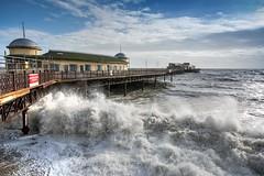 Impact (James Waghorn) Tags: winter sea england beach water pier nikon waves sigma spray foam hastings ultrawide lightroom sigma1020 d7100 blinkagain blinksuperstars