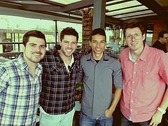 Samuel, Henrique, Taioba e Ramon