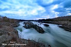 Great Falls National Park (Mike Lennett) Tags: park river virginia washingtondc nationalpark greatfalls maryland falls potomac vision:sunset=0513 vision:mountain=0763 vision:ocean=0639 vision:outdoor=0987 vision:sky=0928 vision:clouds=0737 mikelennett