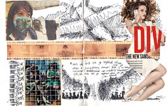 Positive/Negative #3 (Luis Drayton) Tags: art collage sketch drawing cartoon montage photomontage luisdrayton