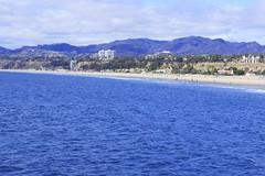 View of Santa Monica (shinnygogo) Tags: california beach losangeles santamonica samo