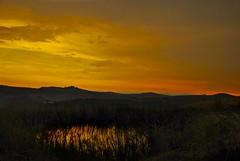 Sunset & reflection