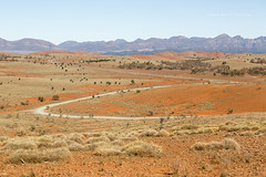 Flinders Ranges (john white photos) Tags: road mountains desert australian dry australia bluesky outback remote flindersranges wilpenapound
