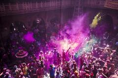 Holi @ Vrindavan (Madhusudanan Parthasarathy) Tags: india colors festival nikon colours culture lifestyle sigma celebration 1020mm holi mathura vrindavan riotofcolours d5100 holi2014 madhusudananparthasarathy potd:country=fr