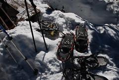 Snowshoe Parking (Let Ideas Compete) Tags: trip winter snow mountains snowshoe colorado snowy hut snowshoeing aspen snowshoes margys margyshut