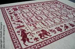 Tableau d'Emilienne5 (ingrid.germonprez) Tags: crossstitch embroidery needlepoint pointdecroix broderie puntocroce kreuzstich kruissteek