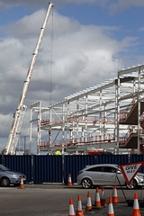 Rotherham New Tesco 21st Mar 2014 (19) (Chris.,) Tags: england tesco cranes constructionsite rotherham superstore southyorkshire tcn sypte canonefs55250mmf456is echarris canoneos1100d bspconsulting isgplc smithysmalleyarchitects