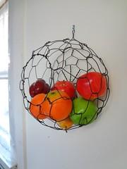 DSC01321 (CharestStudios) Tags: geometric wire sphere hanging wirebasket handmadebasket