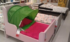 Kids bed in IKEA (spelio) Tags: ikea canberra shopping act store stuff