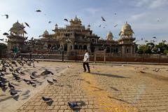 City Palace jaipur (poulami das) Tags: sky people street bird travel architecture temple man india canon kerala tokina lightroom daylight karnataka traditional 550d rajasthan 11mm 1116mm f9 jaipur