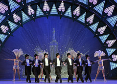 I'll Build a Stairway to Paradise - Swing cast, led by Haydn Oakley (and David Seadon-Young) (DanceTabs) Tags: dance dancers musical americaninparis dancing songanddance dominion