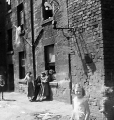 Image titled Finnigan and Airlie Families Backcourts (pen) Arcadia Street 1950s