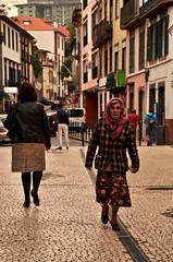 Rua da Carreira (Basse911) Tags: ruadacarreira lady grannie granny street woman funchal madeira wisdom