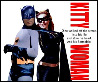 BATMAN 1966 : KITTY WOMAN starring Batman and Catwoman