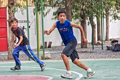 Pedro and Mynor in motion (Pejasar) Tags: soccerfield sports boys mynor pedro guatemala antigua jocofút play game soccer